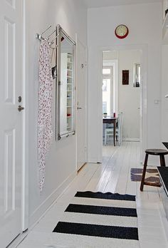 Today's tip: Choose light colors for your hallways. More often than not the lights are off as you pass through, so a lighter color will keep it from feeling too confined. www.anyseasonpainting.com
