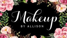 Makeup Artist Modern Script Girly Floral Wrapping Business Cards http://www.zazzle.com/makeup_artist_modern_script_girly_floral_wrapping_double_sided_standard_business_cards_pack_of_100-240698315289449999?rf=238835258815790439&tc=GBCCosmetology1Pin