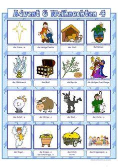 Study German, Handout, Kindergarten, Comics, Weihnachten, Secondary School, Elementary Schools, Learning Letters, Preschool