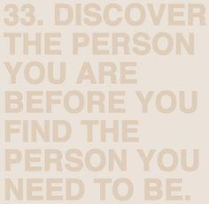 Discover you