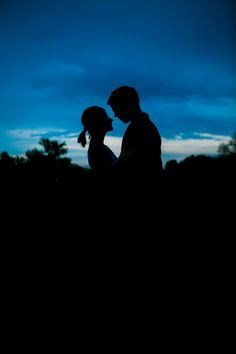 Hillsdale Michigan nighttime portraits silhouette