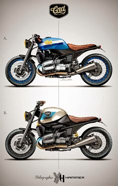 Racing Cafè: Cafè Racer Concepts - Bmw R 1100 R #1 by Holographic Hammer