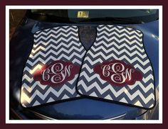 Gift Ideas Car Accessories Monogrammed Gift by ChicMonogram, | http://carsandsuchcollections.blogspot.com