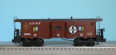 Lionel 6-9323 Santa Fe Bay Window Caboose (FARR #1)