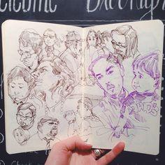 Sketchbook by Mike Del Mundo