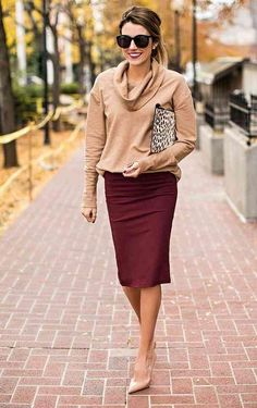 Work outfit ideas: 13 ways to wear a pencil skirt