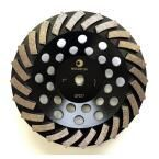 Whirlwind USA 7 in. Segmented Turbo Diamond Grinding Cup Wheel for Concrete and Mortar