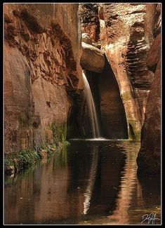 Waterfall Sedona Arizona USA