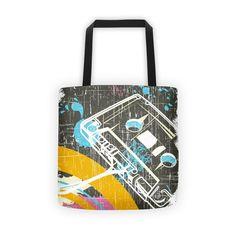 Cassette Grunge Tote bag