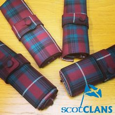 Handmade here at ScotClans in the range of Reiver Tartans.
