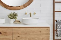 Beautiful bathrooms start with a stand out vanity. Bathroom Colors, Bathroom Sets, Bathroom Showers, Bathroom Inspo, Bathroom Storage, Master Bathroom, Bathroom Interior Design, Kitchen Interior, Bathroom Designs