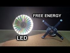 Free Energy Electricity Generator With LED - Experiment Project at Home 2020 Energy Quotes, Project Free, Energy Use, Ceiling Fan, Led, Experiment, Videos, Charger, Projects