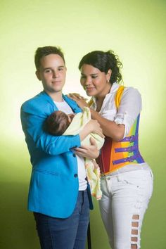 "Last year, Fernando and Diane made news around the world when the couple revealed they were expecting. This June, their baby (whom they've affectionately nicknamed ""Caraote"" — the snail) was born. It wasn't your typical pregnancy, per se, because Fernando was actually the one carrying the baby. Meet Fernando. Fernando Machado was born Maria in Ecuador, where being transgender is not easy. Though he hasn't undergone gender reassignment surgery, he is living life as himself, rather than as a…"
