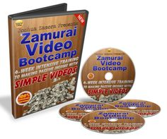 ZAMURAI VIDEO BOOTCAMP – TOP NEW 5-STEP BLUEPRINT TO GET PROFIT $500-$1000 PER MONTH AND RANK SIMPLE VIDEOS ON PAGE 1 OF GOOGLE EASILY
