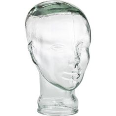 If you ever wanted a clear head, here's your chance. Made of molded recycled glass, this Pier 1 classic is great for funkifying décor, storing wigs or just keeping you company (aww). It wears a lot of hats, that nutty Recycled Glass Head.