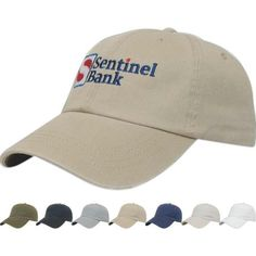 Value Washed Chino Twill Cap from bizpen.com