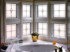 Multi Panels Leaded U0026 Beveled Design Http://www.scottishstainedglass.com/ · Bathroom  Window PrivacyBathroom WindowsGlass ...