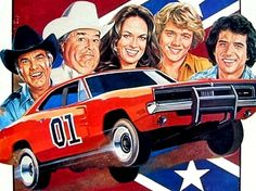 Années 80, 80s, eighties, Shérif fais moi peur, Dukes of Hazzard, bo, luke, Daisy, General Lee, ...et Rosco.. yeaaaaaaaa ahhhh