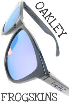 18768a7a88f Oakley Frogskins OO9013-09 Black Polarized Sunglasses