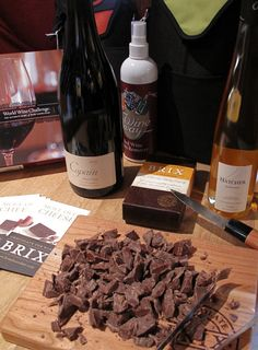 Brix Chocolate and Wine with Pinot Noir and Dessert Wine. Milk Chocolate. Kosher. Dessert. Wine Pairings.
