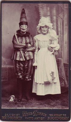 Freaky vintage photograph. I bet this was in a nursery.