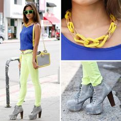 Let's Go To Electric Avenue Look by Double Zero