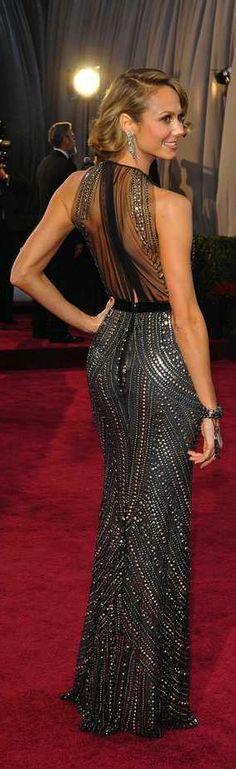 Stacy Kiebler in Naeem Kahn Diva Fashion, Urban Fashion, Fashion Design, Fashion Women, Stunning Dresses, Pretty Dresses, Amazing Dresses, Dress Skirt, Dress Up