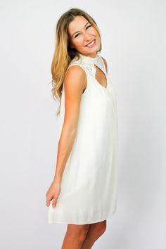 Ivory Lace Dreamer Dress $56