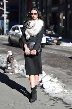 Fashion Week in New York: street style. Part II (14 photos)