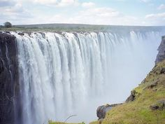 Another shot of Victoria Falls, Livingstone, Zambia.