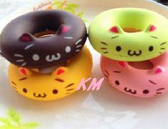Squishy Kawaii Cat phone charm <3 I so want!!