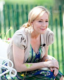"""Joanne """"Jo"""" Rowling (born 31 July 1965), pen name J. K. Rowling, is a British novelist, best known as the author of the Harry Potter fantasy series."""