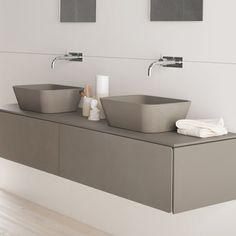 Neos - Mobile a muro Bathroom Collections, Tiles, Shelves, Bathroom Sinks, Flooring, Shower, Faucets, Interior, Wall