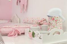 garrafa térmica com capa floral Da Fertilidade à Maternidade!