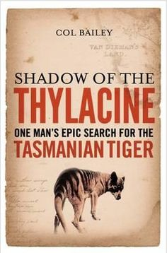 Tasmanian tiger childrens book