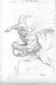 Batman sketch ed benes