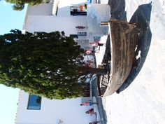 Outside Salvador Dali's house in Cadeques, Spain 2011