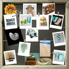 Beach House Mood Board