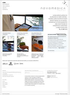 Novomédica es una unidad médico jurídica de valoración del daño corporal.  A finales de 2012 nos encarga su imagen corporativa, materiales de comunicación, web y blog. Website, Blog, Finals, Unity, Hospitals, United States, Tecnologia, Activities, Blogging