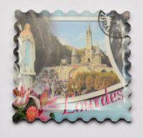 Lourdes Magnets of the Sanctuary Magnets
