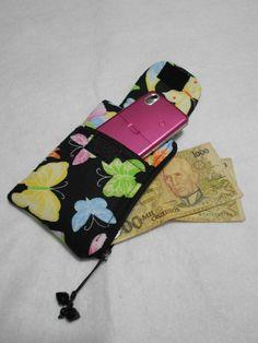 carteira com porta cel