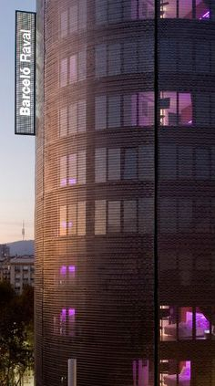 The Barcelo Raval is one of our favourite places to stay in Barcelona.  The iconic wire cage that wraps around it makes it a distinct landmark in the cities skyline