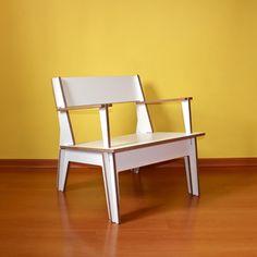 Plana Armchair - CAMILA GASCON Poltrona Plana CNC Furniture