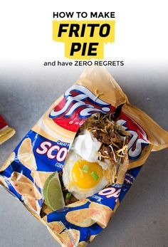 Breakfast Frito Pie Will Leave You with Zero Regrets | Extra Crispy
