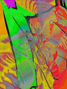 'Farbspielerei-pn1' von Peter Norden bei artflakes.com als Poster oder Kunstdruck $20.79