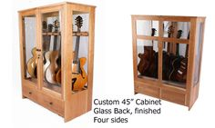 Delightful Guitar Habitat® Humidity Controlled Guitar Cabinets   American Music  Furniture Co., LLC | Music | Pinterest | Music Furniture, Guitar Cabinet  And Media ...