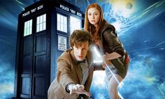 Doctor Who. I just started watching this show, but I started with season 5. I know, a little out of order, but I couldn't find a website that had the earlier seasons, so I'll keep with this one for now. I'll catch up on the others later. But so far, it's a pretty awesome show.