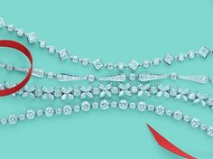 Bracciale di diamanti di Tiffany