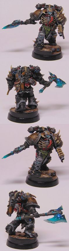 40k - Chaos Chosen Space Marine by Artur