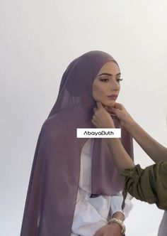 The model is wearing our Dusty Mauve Georgette Hijab. The model is wearing our Dusty Mauve Georgette Hijab, Hijab Undercap an Hijab Fashion Summer, Modern Hijab Fashion, Hijab Fashion Inspiration, Muslim Fashion, Mode Inspiration, Street Hijab Fashion, Trendy Fashion, Turban Hijab, Mode Turban